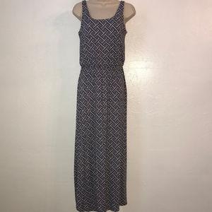 Pixley Laurel Stitch Fix geo print maxi dress A12
